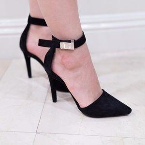 Proenza Schouler D'orsay Ankle Strap Heels